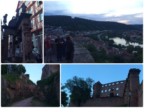 Blick von Burg Wertheim