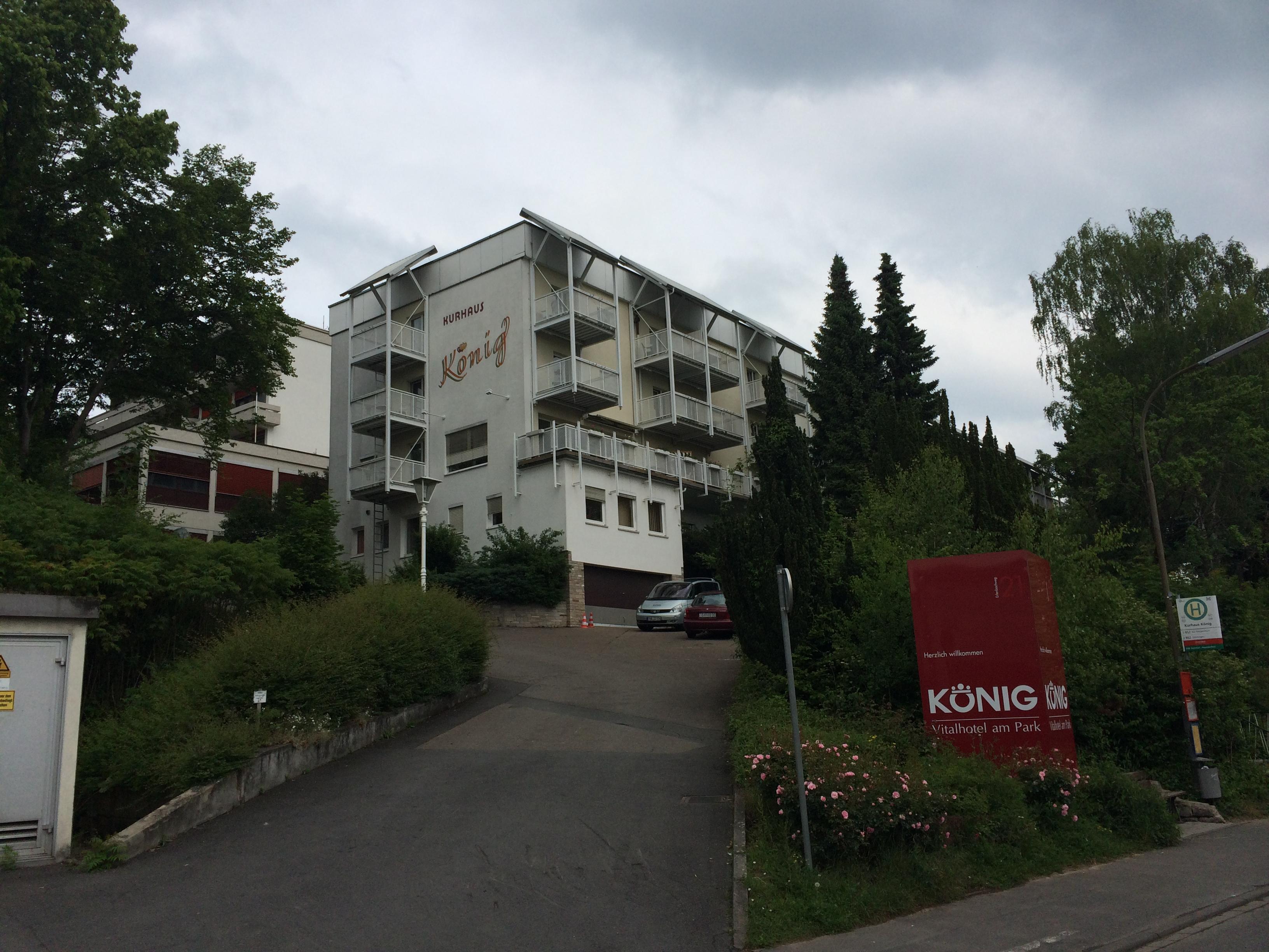 Vital Hotel Konig Bad Mergentheim