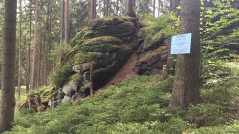 Auch hier gibts Felsmurmeln